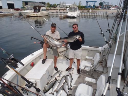 rotauge.at Berichte Fischen auf Königslachse am Lake